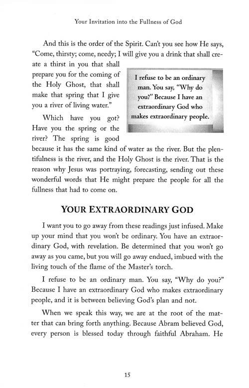 Smith Wigglesworth on Manifesting the Power of God: Walking in God's