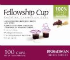 Communion Fellowship Cup Prefilled Juice/Wafer-Box/100 (Pkg-100) by B & H Publishing Group