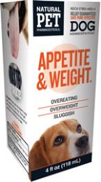 Dog: Appetite & Weight