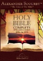 Holy Bible Complete KJV Bible on DVD (DVD) by Alexander Scourby