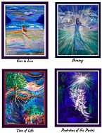 Special Greeting Card Set #2 (artwork greeting cards) by Janice VanCronkhite