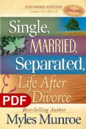 CSingle, Married, Separated and Life after Divorce (E-Book-PDF Download) By Myles Munroe - Click To Enlarge