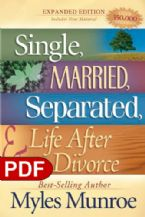 Single, Married, Separated and Life after Divorce (E-Book-PDF Download) By Myles Munroe