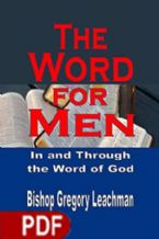 The Word For Men (E-Book PDF Download) By Gregory Leachman