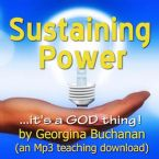 Sustaining Power (MP3 Teaching Download) by Georgina Buchanan