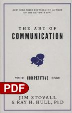 The Art of Communication: Your Competitive Edge (E-Bokk PDF Download) by Jim Stovall and Raymond H. Hull