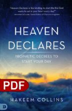 Heaven Declares: Prophetic Decrees to Start Your Day (e-Book PDF Download) by: Hakeem Collins