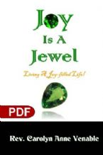 Joy Is a Jewel: Living a Joy-Filled Life (e-Book PDF Download) by Carolyn Anne Venable