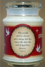Soy Jar Candle (Gift) Apple Dumpling