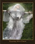 CCrucified With Christ (Prophetic Art- 8.5 x 10.5) by Glenda Wilson - Click To Enlarge