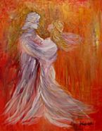 Dance With Me (artwork 8X10) by Janice VanCronkhite
