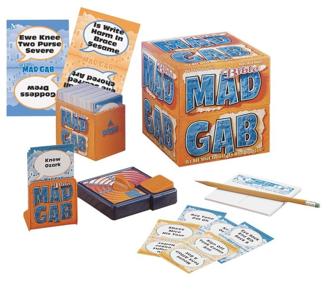 Bible Mad Gab Game By Talicor Inc Identity Network Prophetic