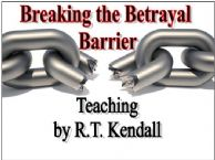 Breaking the Betrayal Barrier (MP3 Teaching Download) by R.T.Kendall