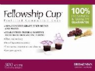 Communion Fellowship Cup Prefilled Juice/Wafer-Box/500 (Pkg-500) by B & H Publishing Group