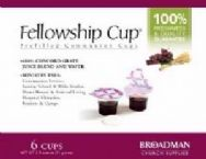 Communion Fellowship Cup Prefilled Juice/Wafer (Box Of 6) by B & H Publishing Group