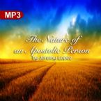 The Nature of an Apostolic Person (MP3 Teaching Download) by Jeremy Lopez