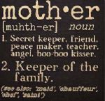 Sign-Mother Definition-Square (6 x 6)
