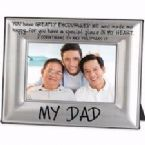 Photo Frame-My Dad  (Beveled Metal Frames)