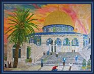 The Dome Of The Rock (Art Work) by Mike DeLorenzo