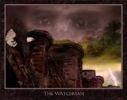 The Watchman (Prophetic Art- 8.5 x 10.5) by Glenda Wilson
