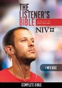 CThe Listener's Bible NIV: Complete Bible - MP3 - 1 Disc (MP3 Bible) by Max McLean - Click To Enlarge