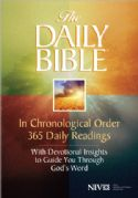 CNIV Chronological One Year Study Bible (NIV Soft Cover Bible) by Harvest House Publishers - Click To Enlarge