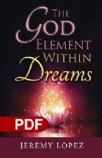 The God Element Within Dreams (Ebook PDF Download) by Jeremy Lopez