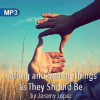 Calling and Seeing Things as They Should Be (MP3 Teaching Download) by Jeremy Lopez