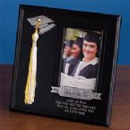 Photo Frame-Graduate w/Tassel Hook (10 x 10) (Holds 4x6 Photo)