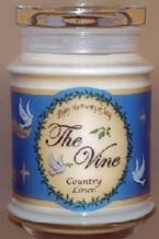 Soy Jar Candle (Gift) Country Linen